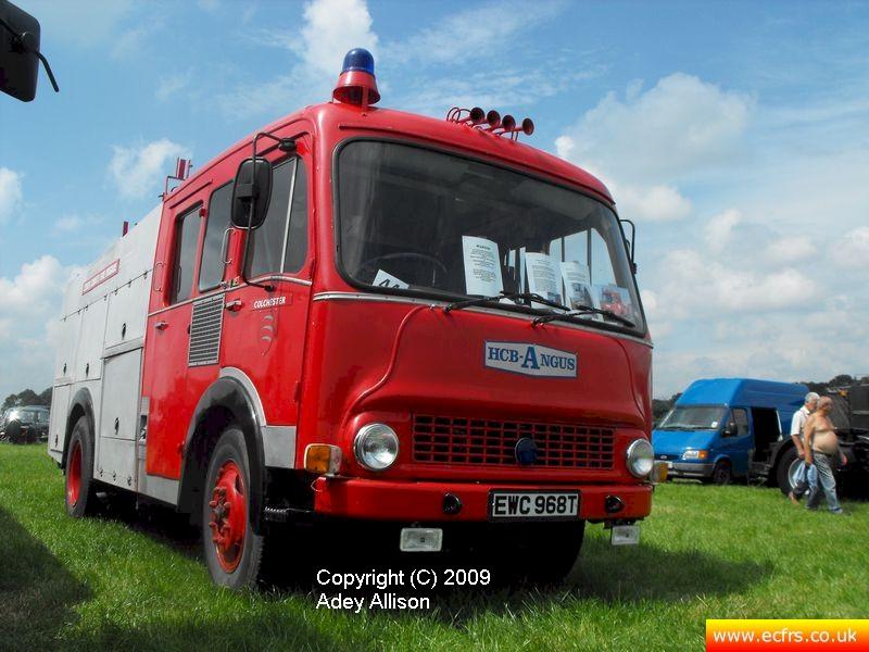 Essex FRS Bedford TK EWC 968T - Picture courtesy of Adey Allison