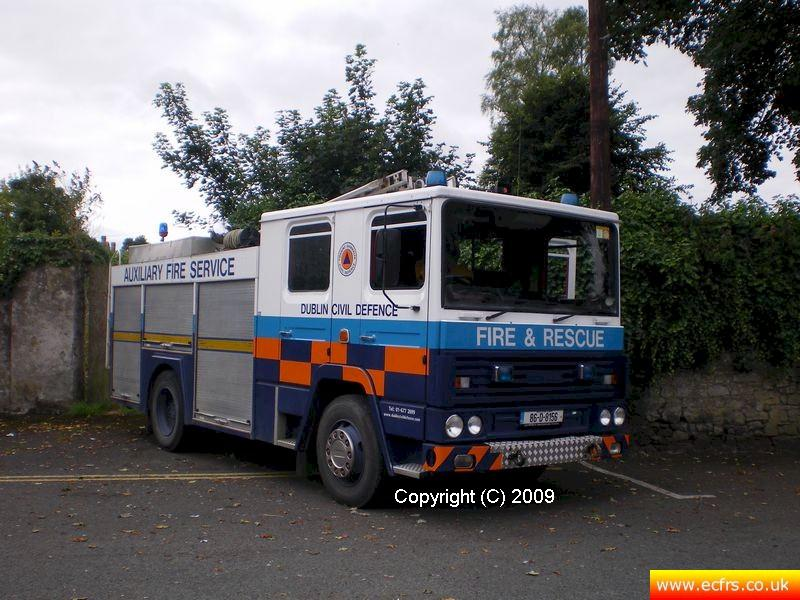 Essex FB Dennis RS C837 GNO now in the service of Dublin Auxiliary Fire Service