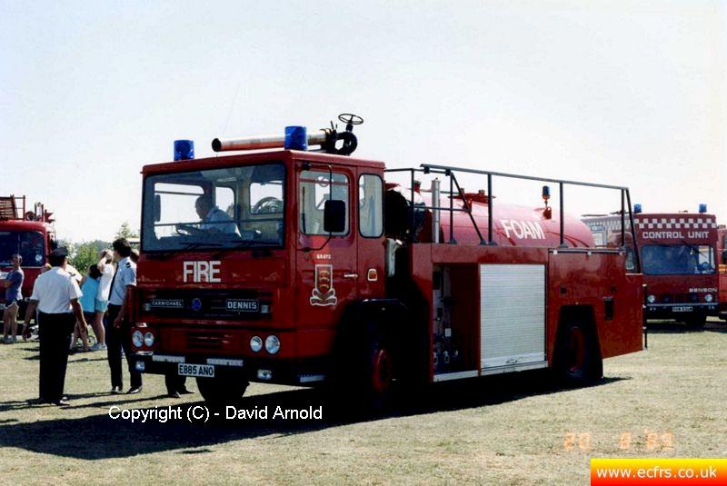 Essex FB Dennis DF E885 ANO - Picture courtesy of David Arnold