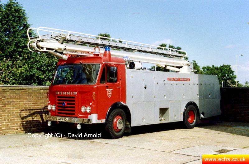 Essex FB Dennis F49 AVW 980L - Picture courtesy of David Arnold