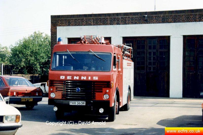Essex FB Dennis R61 TAR 363R - Picture courtesy of David Arnold