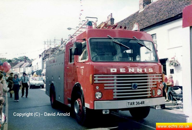 Essex FB Dennis R61 TAR 364R in Maldon - Picture courtesy of David Arnold