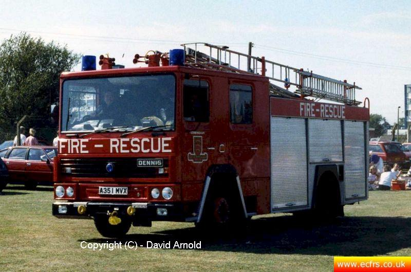 Essex FB Dennis RS A351 MVX - Picture courtesy of David Arnold