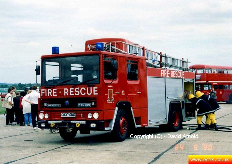 Essex FB Dennis RS C837 GNO - Picture courtesy of David Arnold