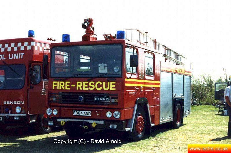 Essex FB Dennis RS E884 ANO - Picture courtesy of David Arnold
