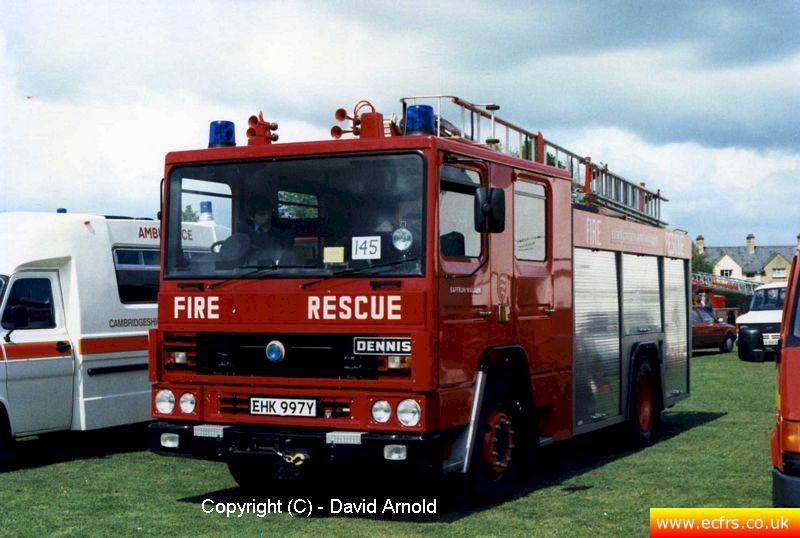 Essex FB Dennis RS EHK 997Y - Picture courtesy ofDavid Arnold