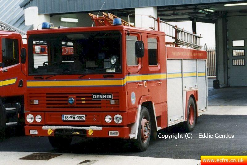 Essex FRS Dennis RS B95 BJN - Picture courtesy of Eddie Gentles