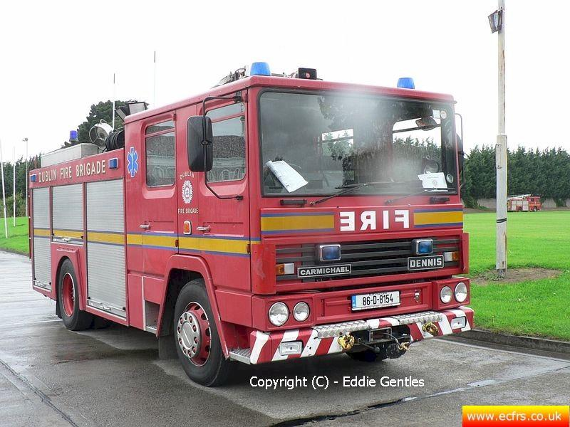 Essex FRS Dennis RS C838 GNO on the 18th of September 2005 - Picture courtesy of Eddie Gentles