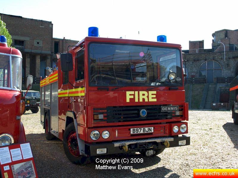Essex FB Dennis RS B97 BJN on the 31st of August 2009 at Coal House Fort - Photo courtesy of Matthew Evans