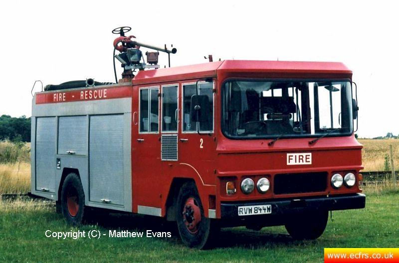 Essex FRS Bedford TKG RVW 844W - Picture courtesy of Matthew Evans