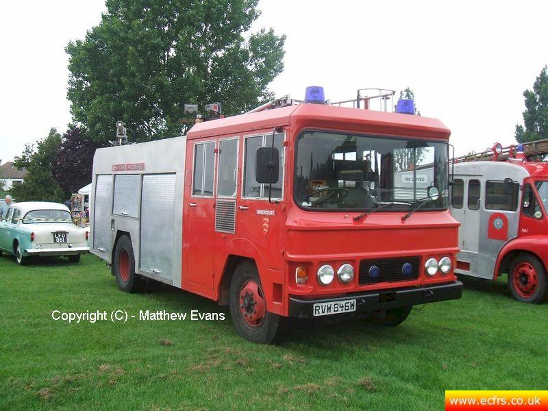 Essex FRS Bedford TKG RVW 846W on the 3rd of June 2007 - Picture courtesy of Matthew Evans