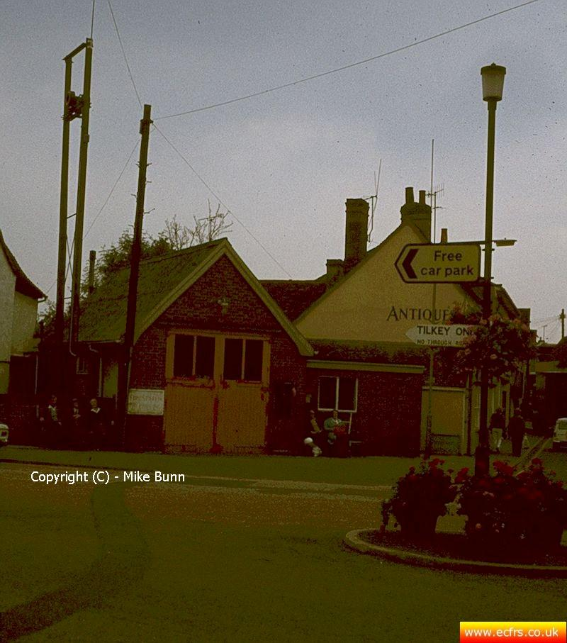 Coggeshall Fire Station circa 1972 - picture courtesy of Mike Bunn