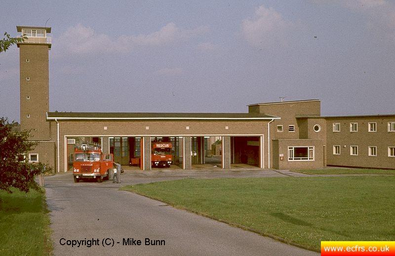 Grays Fire Station circa 1983 - picture courtesy of Mike Bunn